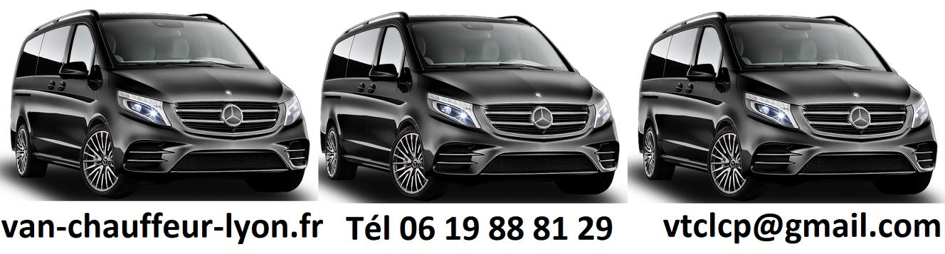 Tarifs van et minibus avec chauffeur VTC Lyon